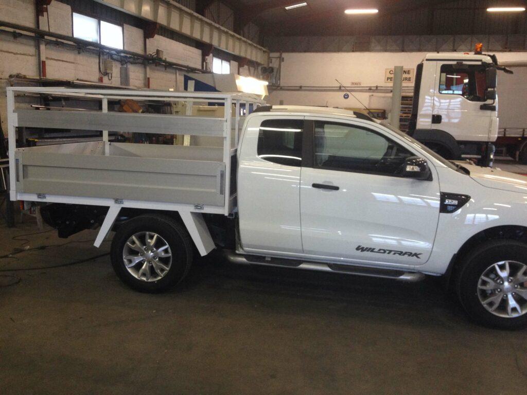 pick-up garage