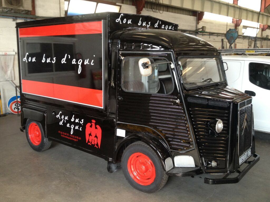 food truck utilitaire